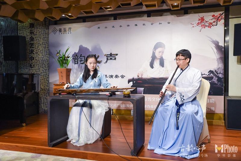 *与蒋正老师合作《关山月》